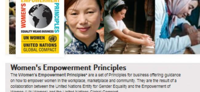 Premios al liderazgo por el empoderamiento de las mujeres.
