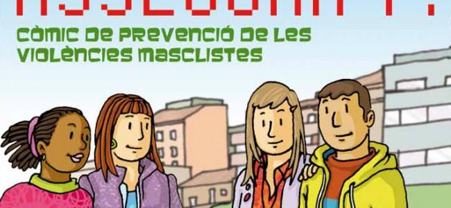 Cómic «Asegúrate», para la prevención de las violencias machistas