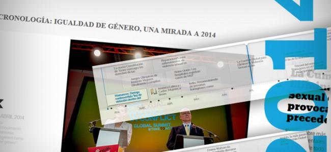 Principales hitos por la igualdad de 2014: cronología interactiva