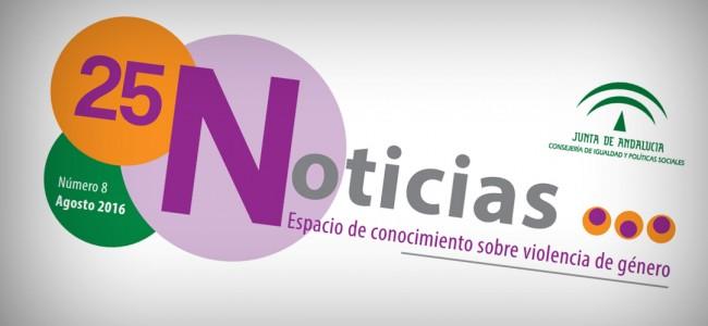 El Instituto Andaluz de la Mujer publica periódicamente un Boletín de noticias sobre violencia de género