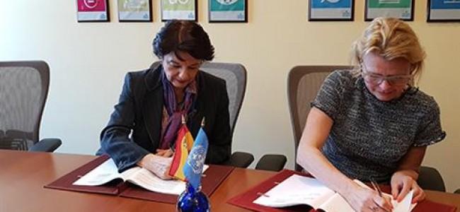 Acuerdo entre ONU Mujeres y el Gobierno español para promover la igualdad en la cooperación y la acción exterior.
