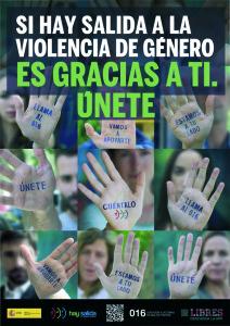 Cartel de la nueva campaña del Gobierno de España contra la violencia de género