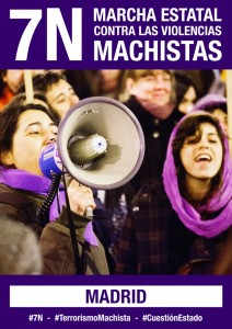 Marcha 7N Madrid