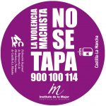 Imagen de los posavasos de la campaña. Fuente: Instituto de la Mujer de Castilla-La Mancha
