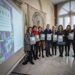 Presentación de la Guía con la La consejera de Igualdad y Políticas Sociales, María José Sánchez Rubio. Fuente: Junta de Andalucía