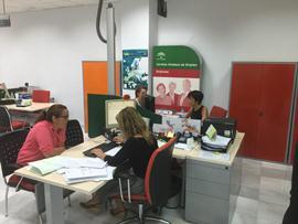 Una oficina del Servicio Andaluz de Empleo. Fuente: Junta de Andalucía