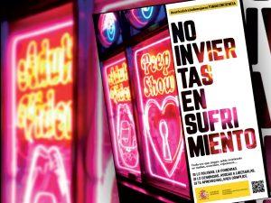 Campaña de sensibilización y prevención de la trata de mujeres con fines de explotación sexual.