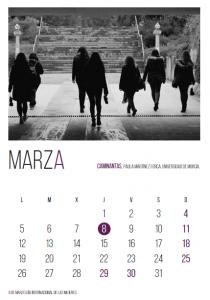 Mes de MARZA en el CalendariA de la UGR