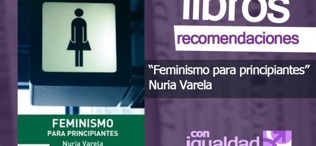 LIBRO: «Feminismo para principiantes», de Nuria Varela