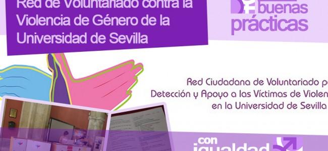 Buenas prácticas: Red de Voluntariado contra la Violencia de Género de la Universidad de Sevilla